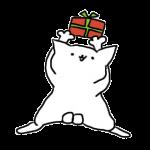 プレゼント猫素材
