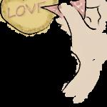 アイシングクッキーを作る女性のイラスト無料素材